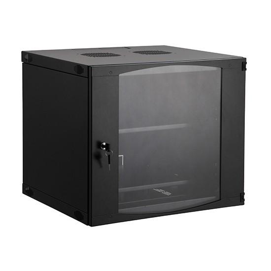 Шкаф настенный SHIP EW5412.100 EW серия 19'' 12U 540*450*593 мм Ш*Г*В IP20 Чёрный