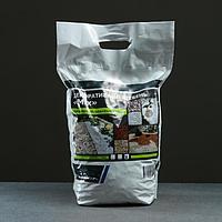 Мраморный щебень (микс) коричневый/белый фракция 10-20, 10 кг