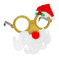Очки карнавальные «Новогодние», виды МИКС