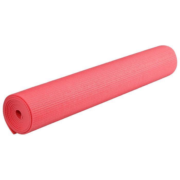 Коврик для йоги 173 х 61 х 0,3 см, цвет красный - фото 2