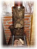 Сетка-каменка №1 (Саванна) — d-250 — h-750 мм — нерж 1,5 мм AISI 430, фото 6
