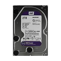 Жёсткий диск для видеонаблюдения Western Digital Purple HDD 2Tb WD20PURZ