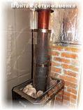 Сетка-каменка №1 (Саванна) — d-250 — h-750 мм — нерж 1,5 мм AISI 430, фото 9