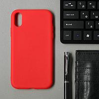 Чехол для iPhone Xr,TPU, красный