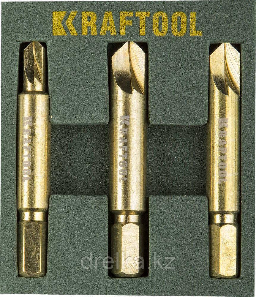 НАБОР Экстрактов KRAFTOOL для выкручивания крепежа