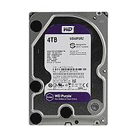 Жёсткий диск для видеонаблюдения, Western Digital, WD40PURZ Purple, HDD 4Tb, SATA 6Gb/s 64Mb 3,5, фото 1