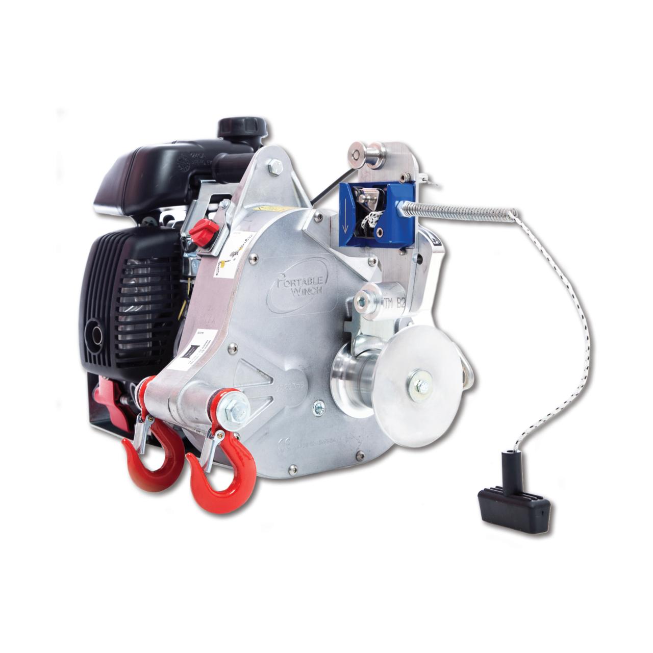 Portable Winch PCH-1000 Лебедка бензиновая до 775 кг (комплектация MINI)
