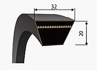Ремень клиновый профиль-D ( Г )
