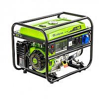 Генератор бензиновый БС-6500, 5,5 кВт, 230В, четырехтактный, 25 л, ручной стартер Сибртех