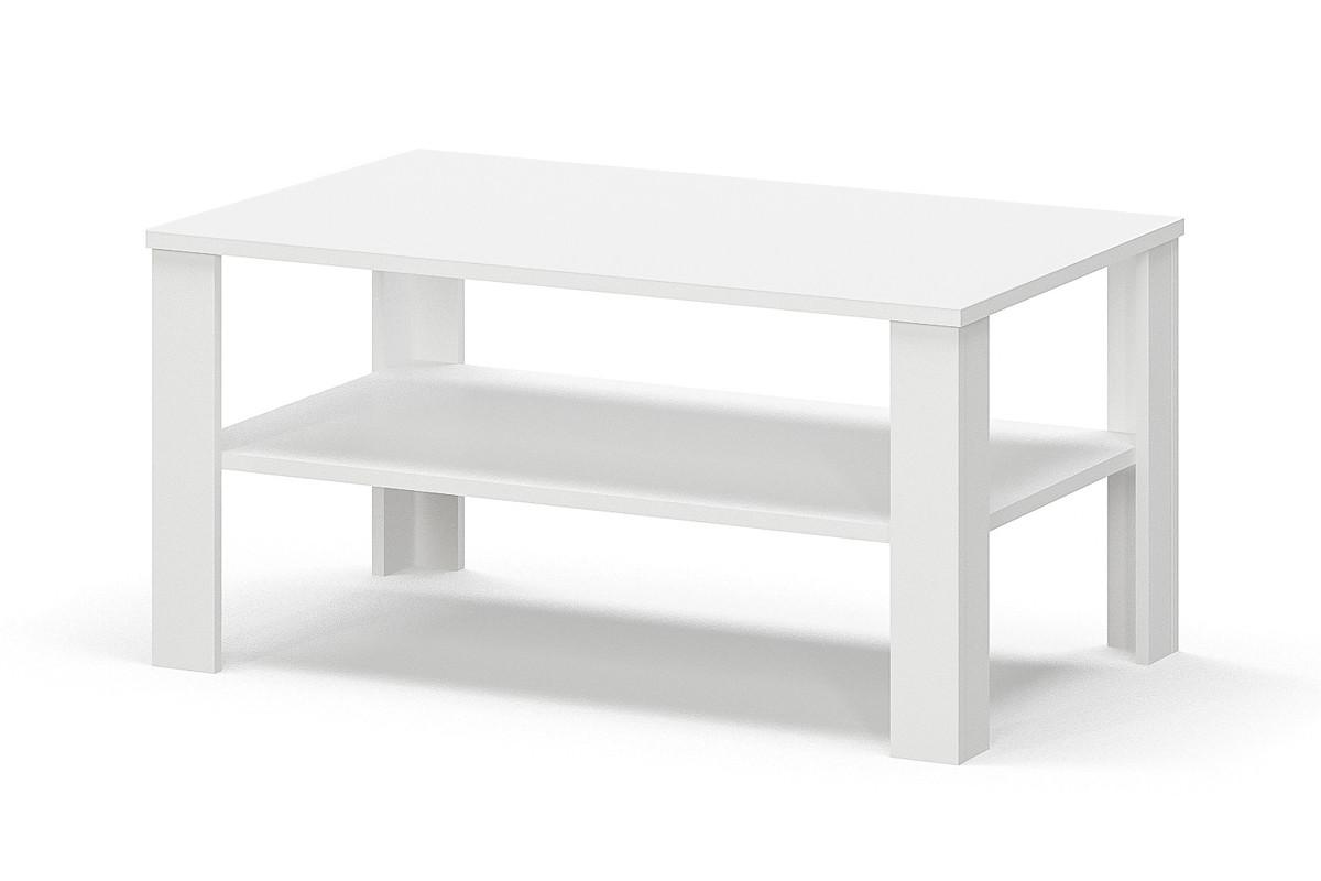 Стол журнальный 001, Белый, Мебель-Сервис