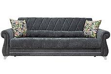 Комплект мягкой мебели Роуз, Серый, Нижегородмебель и К(Россия), фото 2