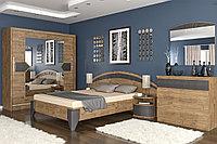 Комплект мебели для спальни Аляска, Дуб април/ Мусонне дерево, MEBEL SERVICE(Украина)