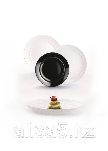 ALEXIE BLACK & WHITE столовый сервиз на 6 персон из 18 предметов, шт
