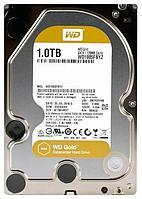 Жесткий диск Western Digital Gold, 1000 GB HDD SATA WD1005FBYZ, 7200rpm, 128MB cache, SATA 6 Gb/s