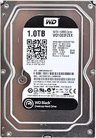Жесткий диск Western Digital Black, 1000 GB HDD SATA WD1003FZEX, 7200rpm, 64MB cache, SATA 6 Gb/s