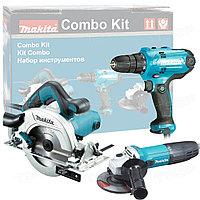 Набор инструментов Makita DK0119 (GA5030 / HS6601 / DF0300)