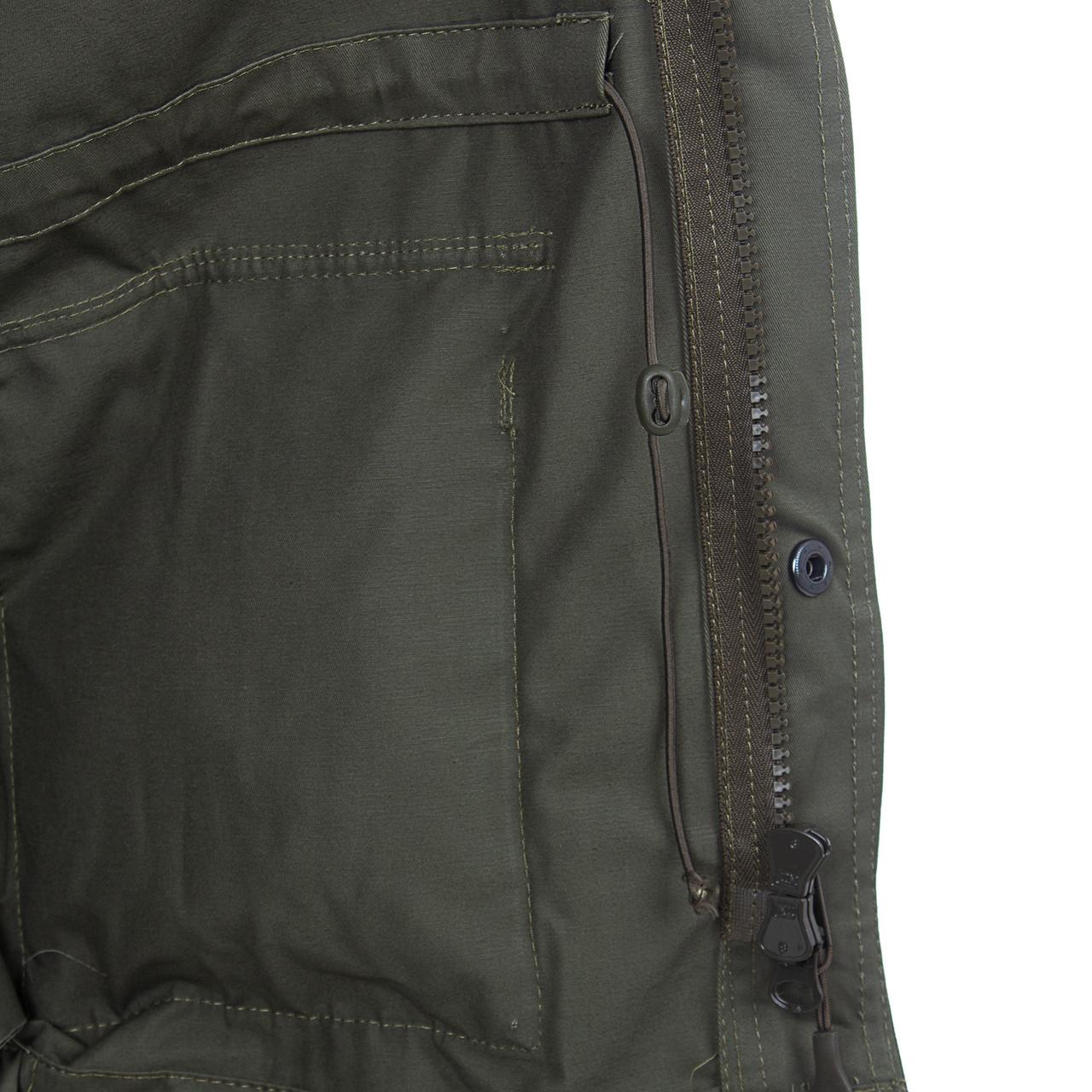 Костюм для охоты и рыбалки летний Крафт М-65 цвет Хаки ткань Cotton - фото 4