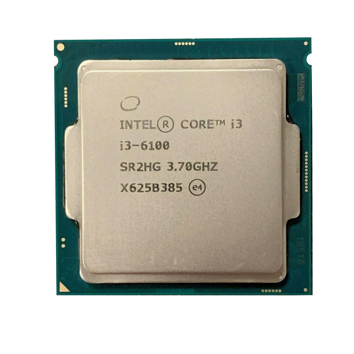 Процессор Intel 1151 Core i3-6100, 3,7GHz