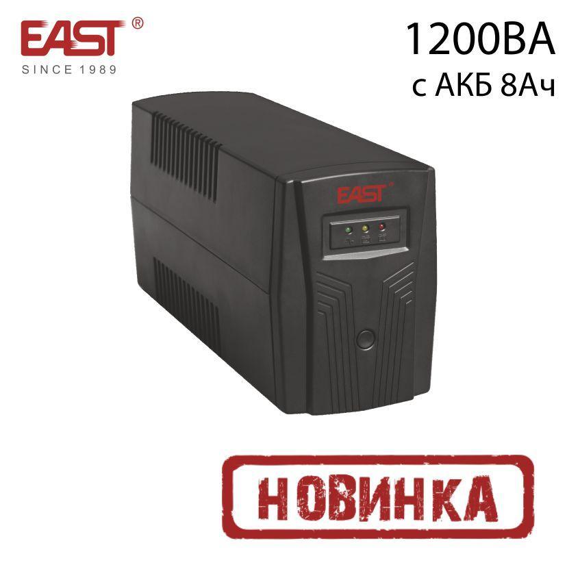 ИБП линейно-интерактивный EA200, 1200ВА/720Вт, c АКБ 8Ач