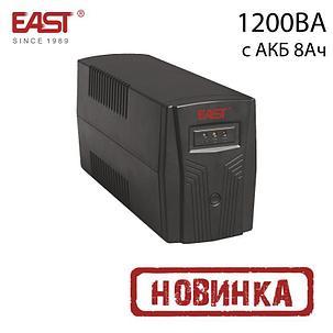 ИБП линейно-интерактивный EA200, 1200ВА/720Вт, c АКБ 8Ач, фото 2