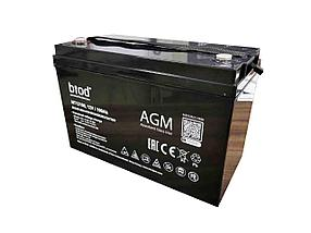 Аккумуляторная батарея 12В, 100 Ач
