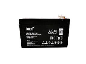 Аккумуляторная батарея 12В, 7Ач для ИБП