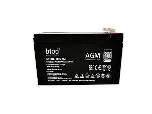 Аккумуляторная батарея 12В, 7Ач для ИБП, фото 2