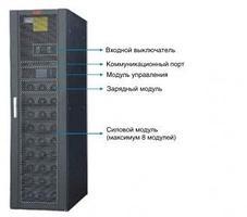 Модульные ИБП EA66100, 100 кВА / 100 кВт, 380В, фото 2