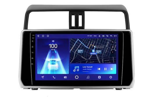 Автомагнитола Teyes CC2L Plus Toyota Land Cruiser Prado 150 2018-2021 1Gb+16Gb