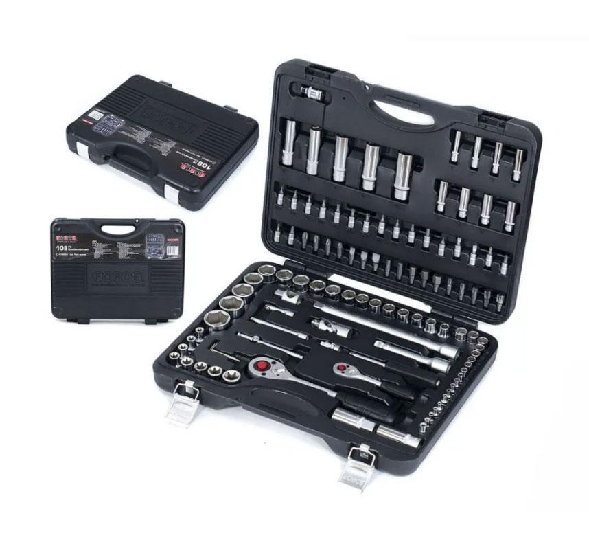 Набор инструментов Force 41082R-5 108 предметов