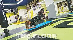 Полы для спортзалов, фитнес клубов и тренажерных залов