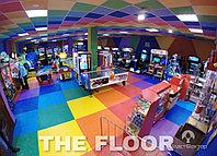 Полы для детских площадок и игровых комнат