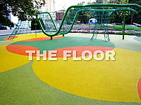 Покрытия из крошки для детских площадок