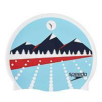 Шапочка для плавания Speedo Slogan