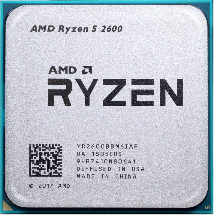 Процессор AMD Ryzen 5 2600G 3,4Ghz