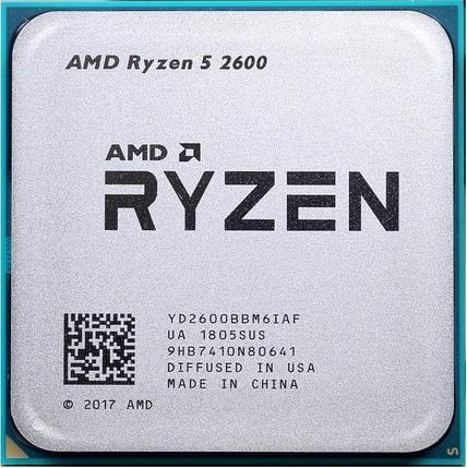 Процессор AMD Ryzen 5 2600G 3,4Ghz, фото 2