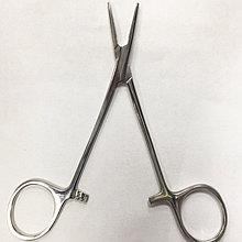 Иглодержатель общехирургический 120 мм