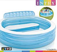Бассейн INTEX 57190 (с диванчиком)