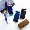 Электронная индукционная вращающаяся USB зажигалка в подарочной коробке.