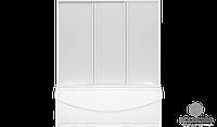 BAS Шторка для ванны АХИН стекло Грэйп 170
