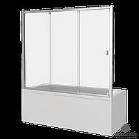 Шторка BAS для ванны SCREEN WTW-150-C-CH