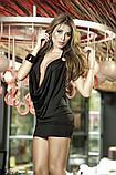 Открытое красное и черное платье 8240 S M L XL, фото 3