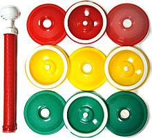 Набор для вакуумного хранения продуктов Вакс (9 крышек КВК-82, 1 насос НВР-3)
