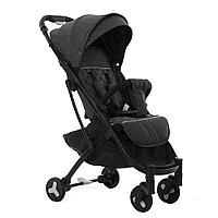 Детская коляска чемодан baby stroller S-007. Коляска трансформер прогулочная черная