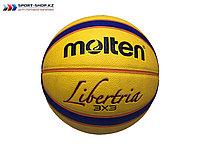 Мяч баскетбольный (стритбольный) MOLTEN Libertria 3x3 Original