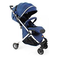 Детская коляска чемодан коляска коляска bair D288 синяя трансформер под джинсу.