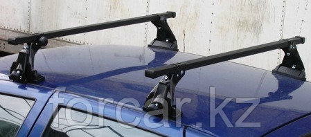 Багажник Atlant эконом-класса на ВАЗ 2110, 2112  с опорой на крышу (алюминиевые дуги), фото 2