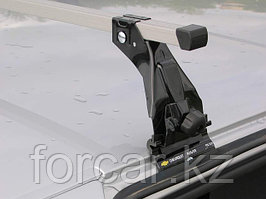 Багажник Atlant эконом-класса на CHEVROLET-НИВА с опорой на крышу (алюминиевые дуги)