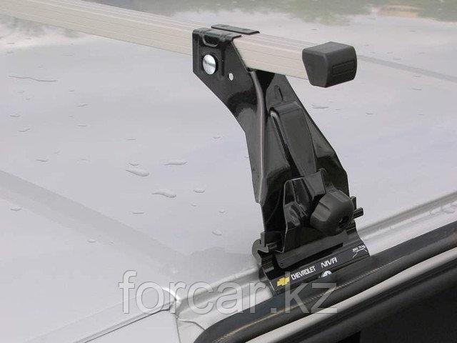 Багажник Atlant эконом-класса на CHEVROLET-НИВА с опорой на крышу (стальные дуги)
