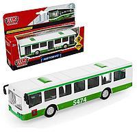 Автобус рейсовый инерционный 16,5 см , Технопарк